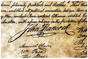 National Handwriting Day John Hancock Signature
