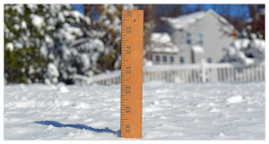 Snow Day Activity Ruler
