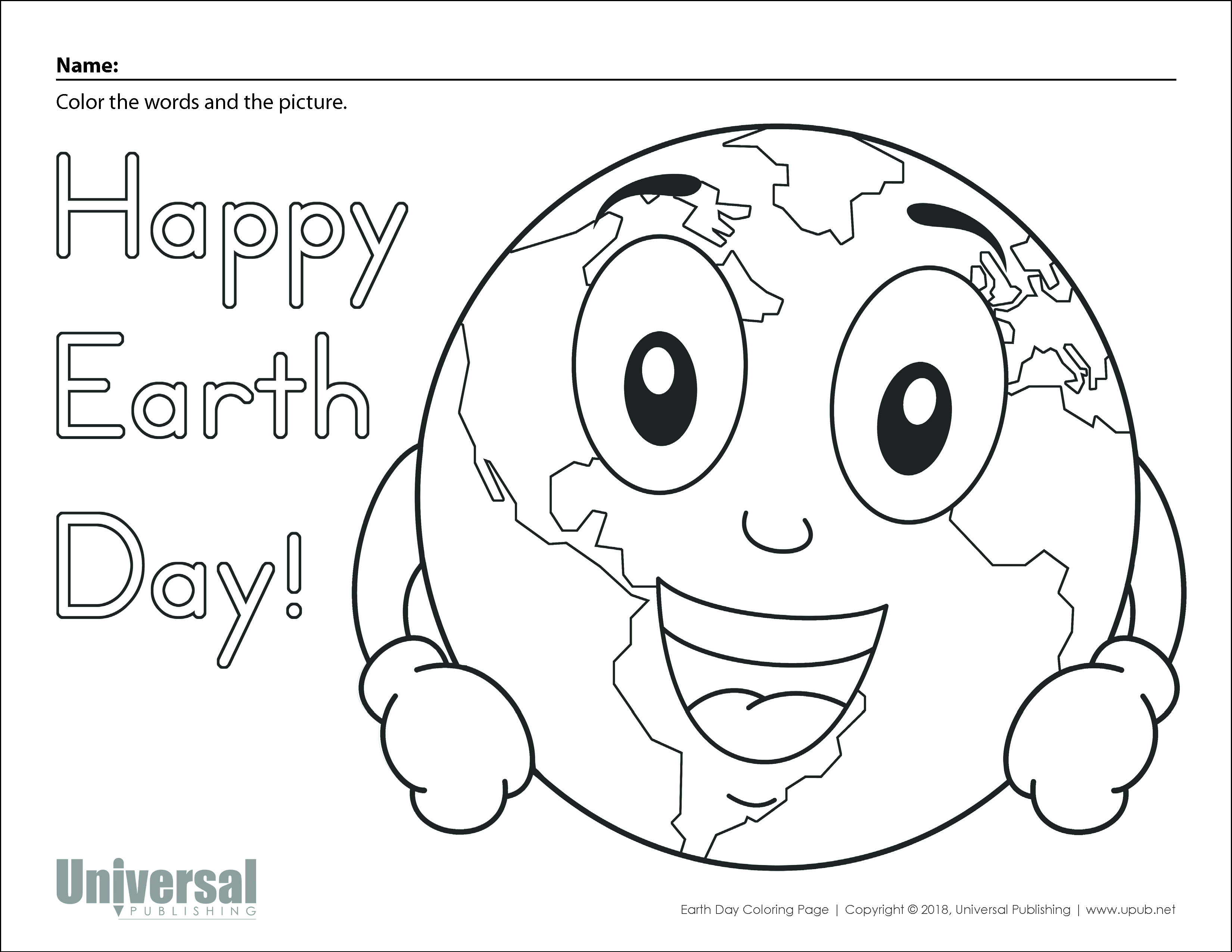 Earth Day Activities | Free Printables - Universal Publishing