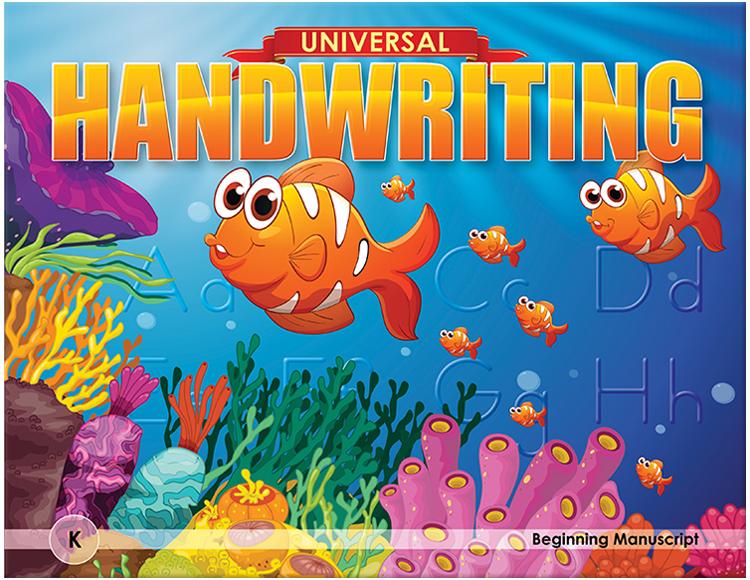 Handwriting Book for Kindergarten
