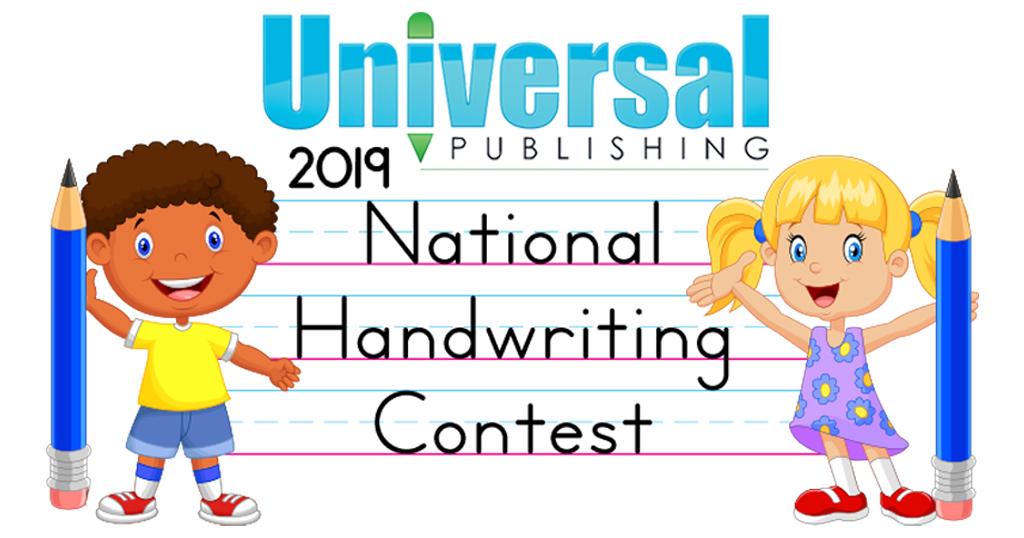 2019 Handwriting Contest