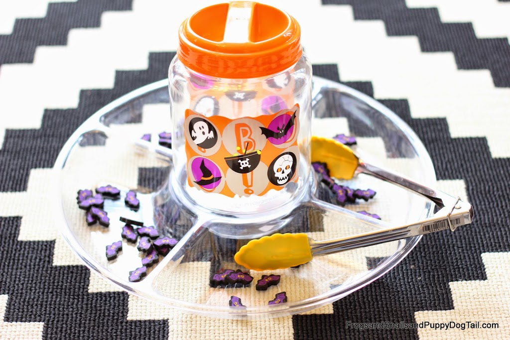 Halloween Activities Frogs Snails and Puppy Dog Tails Count Drop