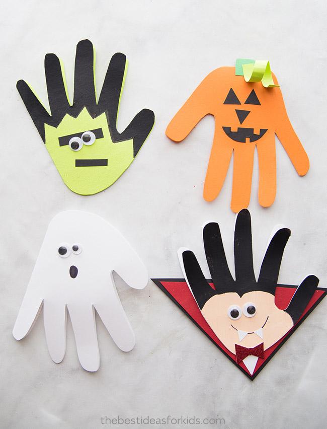 Halloween Activities The Best Ideas for Kids Handprints