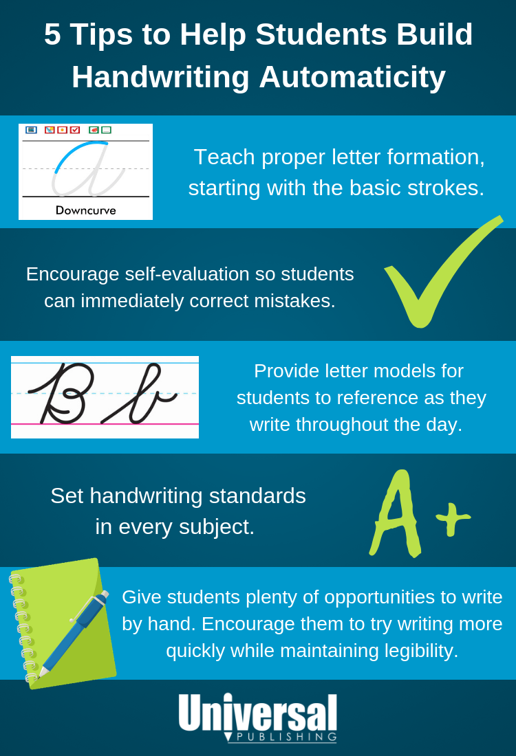 Help Students Build Handwriting Automaticity