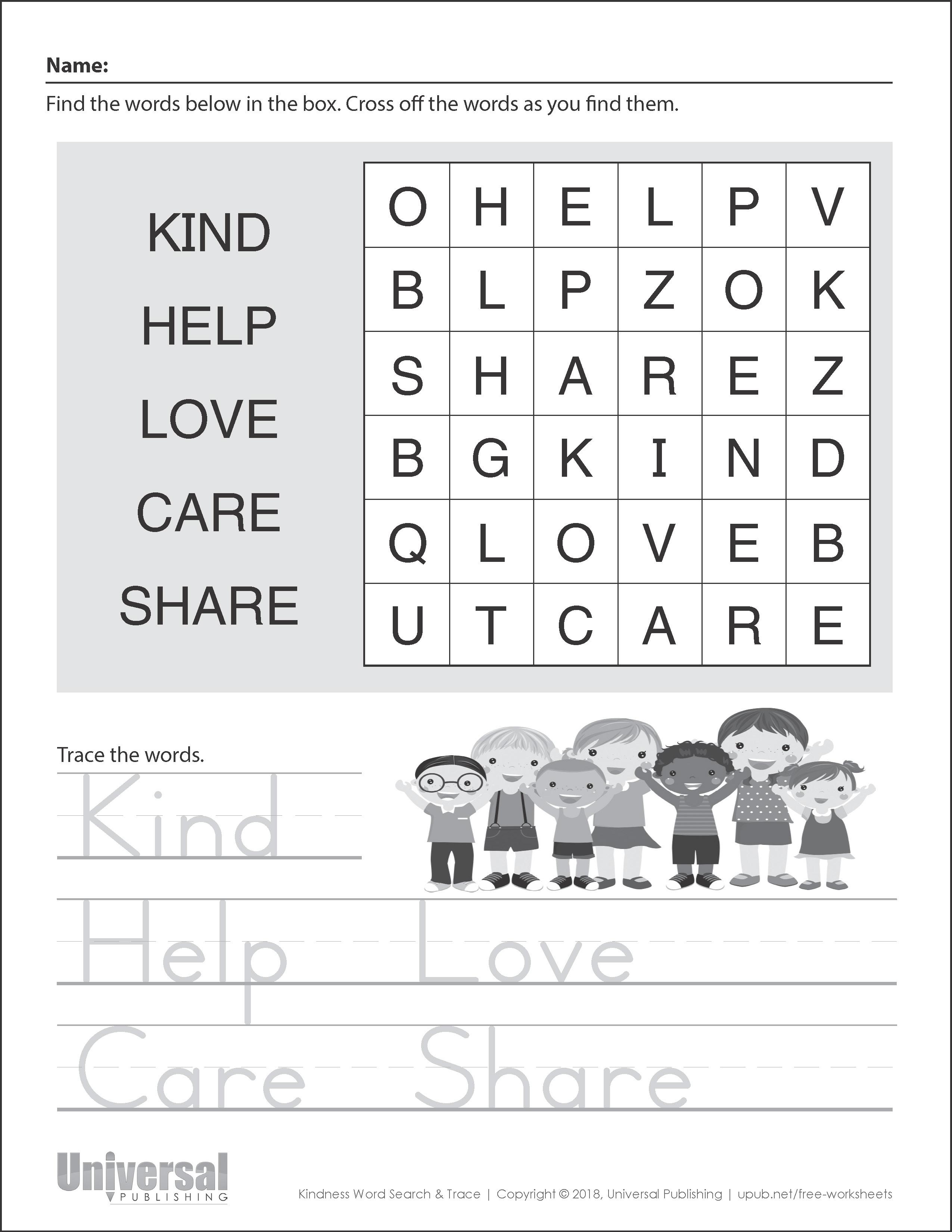 kindness activities