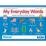 My Everyday Words Book B