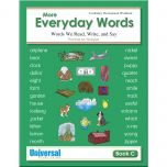 More Everyday Words Book C