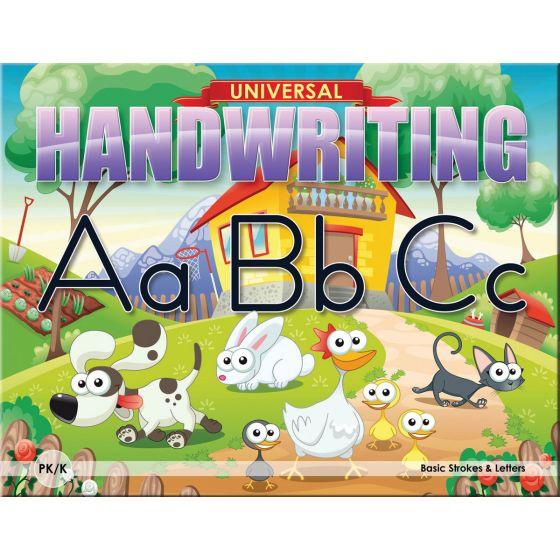 Universal Handwriting: Basic Strokes & Letters
