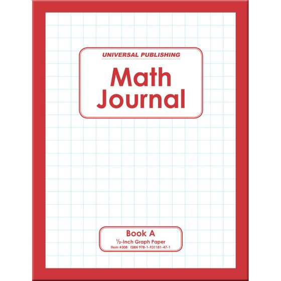 Math Journal Book A
