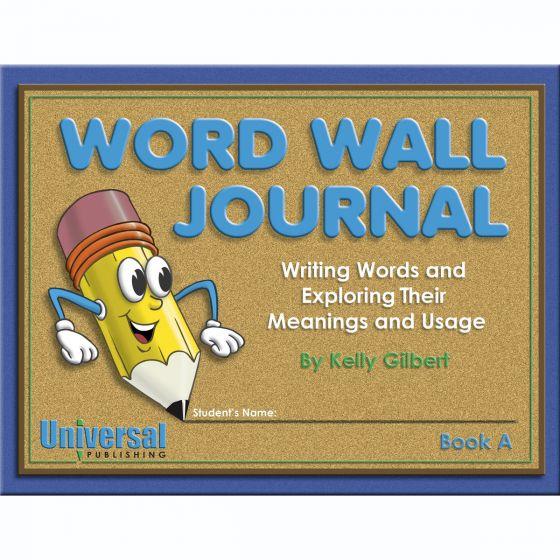 Word Wall Journal Book A