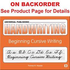 Original Handwriting: Beginning Cursive Writing