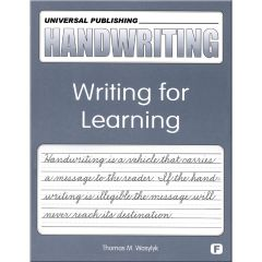 Original Handwriting: Writing for Learning