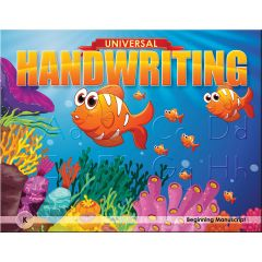 Universal Handwriting -  Grade K