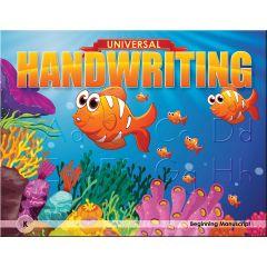 Universal Handwriting -  Grade K