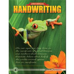 Universal Handwriting - Grade 6