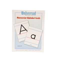 Universal Handwriting - Manuscript Alphabet Cards