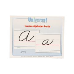 Universal Handwriting - Cursive Alphabet Cards