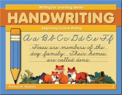 Writing for Learning: Beginning Cursive Writing