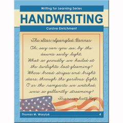 Writing for Learning: Cursive Enrichment