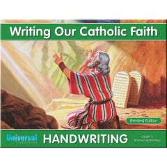 Handwriting - Writing Our Catholic Faith - Grade 1
