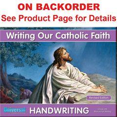 Handwriting - Writing Our Catholic Faith - Grade 2M