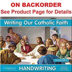 Handwriting - Writing Our Catholic Faith - Grade 2MC