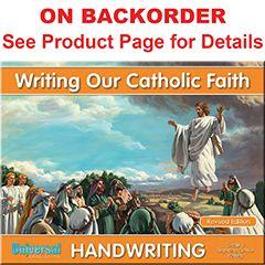 Handwriting - Writing Our Catholic Faith -  Grade 3