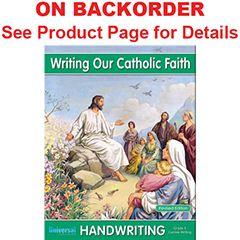 Handwriting - Writing Our Catholic Faith - Grade 5