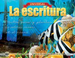 Universal La escritura: Revisión de letra imprenta e introducción de la letra cursiva