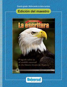 Universal La escritura: Edición del maestro (Reforzando la letra cursiva)