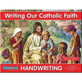 handwriting book grade k writing our catholic faith. Black Bedroom Furniture Sets. Home Design Ideas