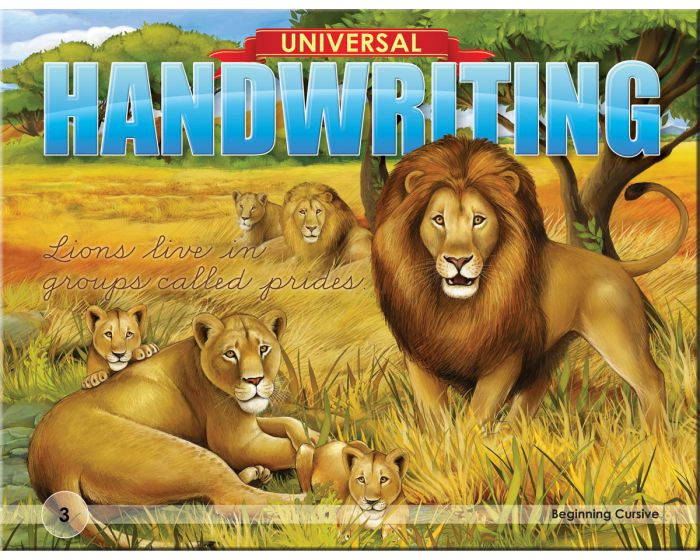 Universal Handwriting: Beginning Cursive