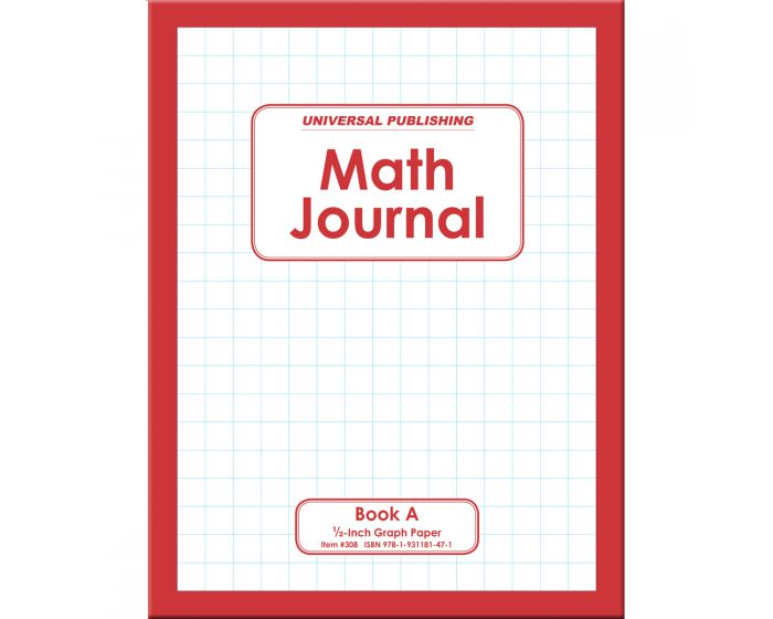 Math Journal Book A