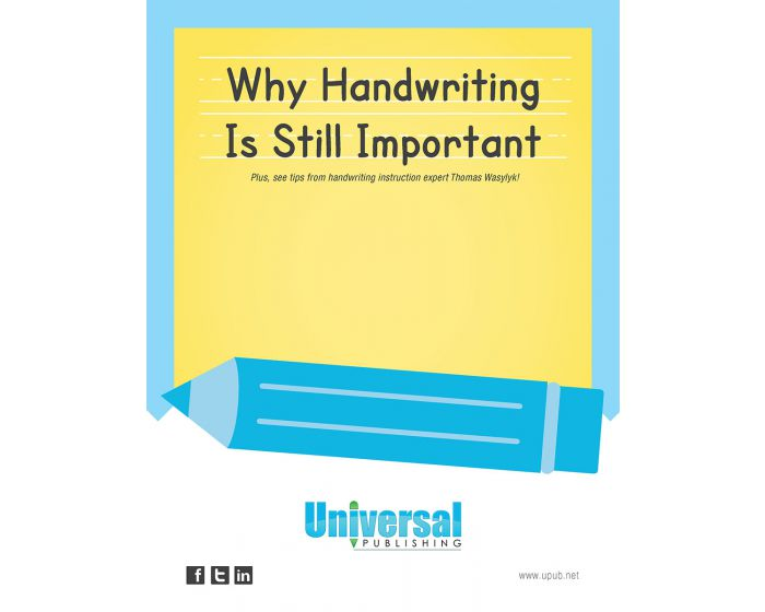 Why Handwriting is Still Important