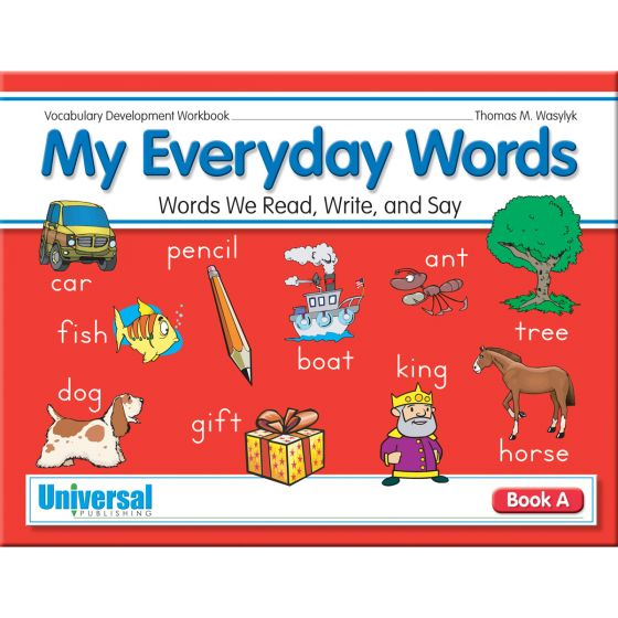 My Everyday Words Book A