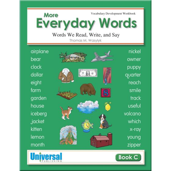 More Everyday Words Gr. 3 - Buy Vocabulary for Kids Book | Universal ...