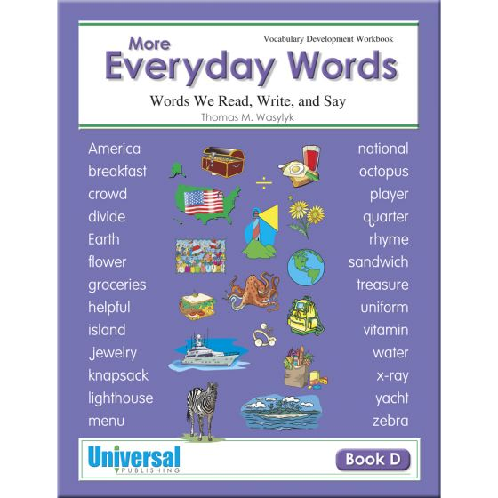 More Everyday Words Book D