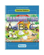 Universal Handwriting: Basic Strokes & Letters Teacher Edition
