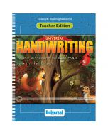 Universal Handwriting: Mastering Manuscript Teacher Edition
