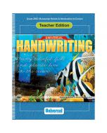 Universal Handwriting: Manuscript Review & Introduction to Cursive Teacher Edition
