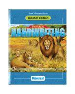 Beginning Cursive Teacher Edition