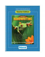 Universal Handwriting: Handwriting Maintenance Teacher Edition