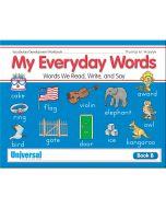 My Everyday Words Book B
