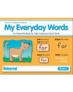 My Everyday Words Book K