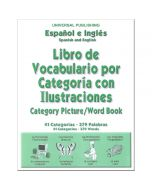 Spanish & English Picture/Word Book