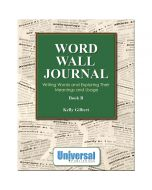 Word Wall Journal Book B