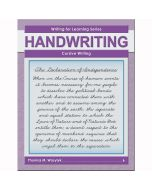 Writing for Learning: Cursive Writing