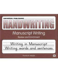 Original Handwriting: Manuscript Writing
