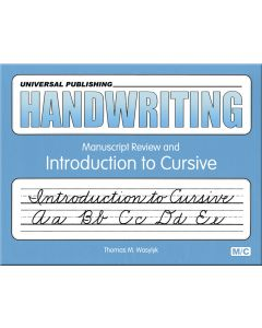 Original Handwriting: Manuscript Rev. Intro. to Cursive