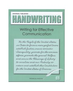 Original Handwriting: Writing for Effective Communication